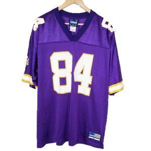 Mens Adidas Randy Moss Football NFL Vikings jersey